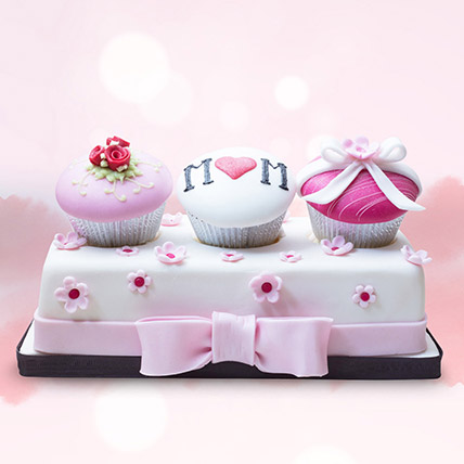 Customized Assorted Cupcakes 3 Pcs: Cakes for Mothers Day