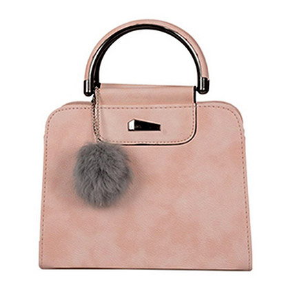 Elegant Pink Handbag Bag: