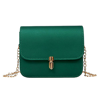 Crossbody Green Bag: Accessories