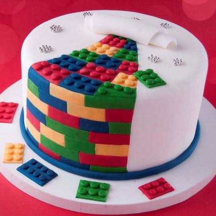 The Lego Blocks Cake 3 Kg: Lego Birthday Cakes