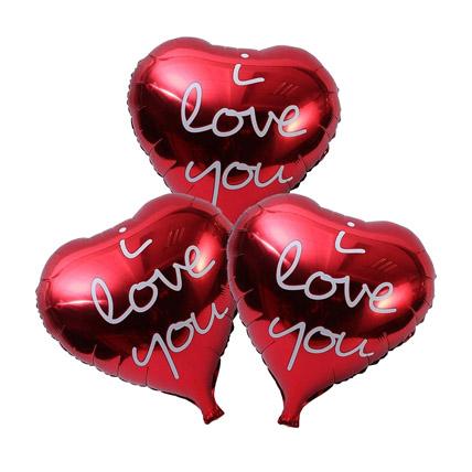 I Love You Foil Balloons: Helium Balloons Dubai