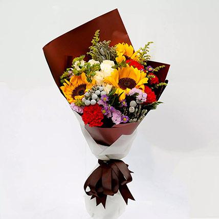 Joyful Bouquet Of Mixed Flowers: Ramadan Gifts to Ajman