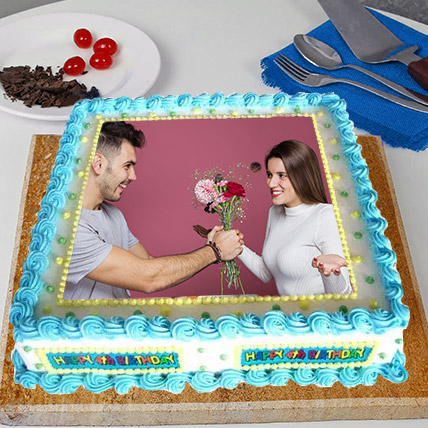Perfect Frame Photo Cake: Photo Cakes
