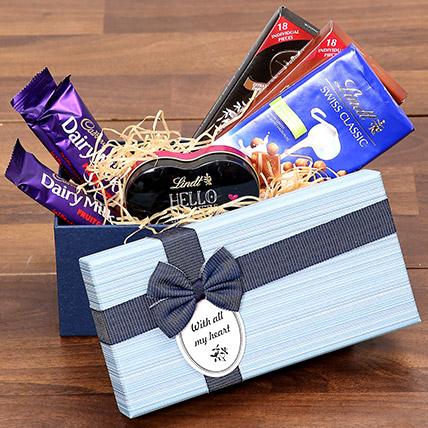 Chocolaty Gift Box: Birthday Gift Hampers