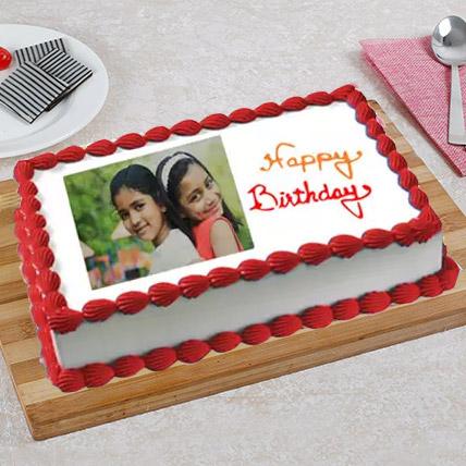 Celebration Photo Cake: Birthday Photo Cakes