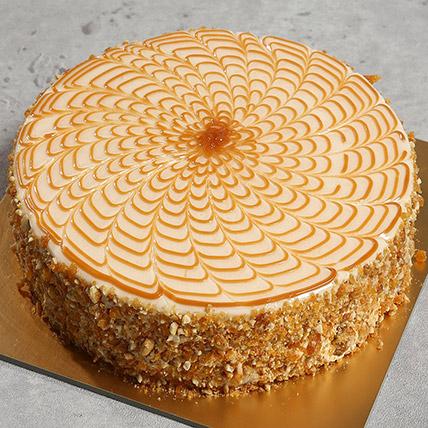 500gm Yummy Butterscotch Cake:
