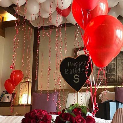 Illustration Of Love: Balloon Decoration Dubai