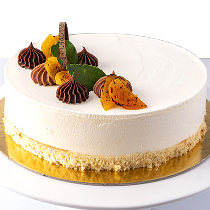 4 Portions Apricot and Caramel Cake: Cakes in Sharjah