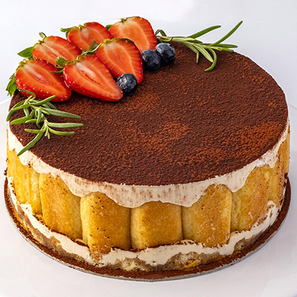 4 Portions Tiramisu Cake: Birthday Cakes Dubai