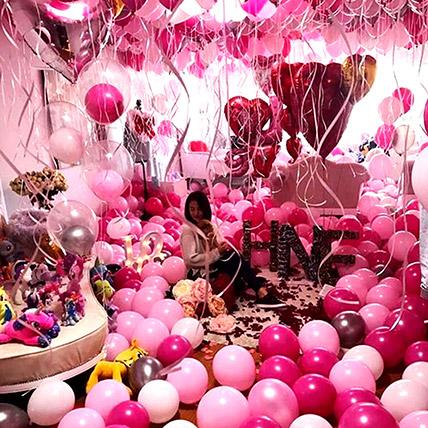 Perfection Of Pink: Balloon Decoration Dubai