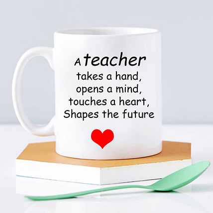 Personalised Mug For Teachers Day: Gifts For Teacher's Day