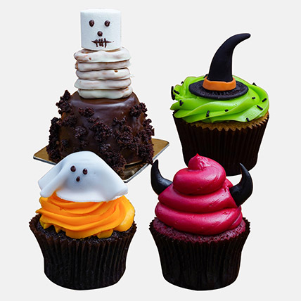 Delicious Spooky Chocolate Cupcakes: Halloween Gifts