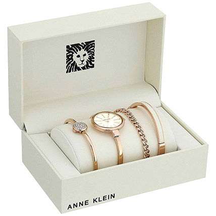4 Piece Ladies Set Anne Klein White Color: Mother's Day Gifts