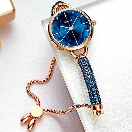 KIMIO Shining Blue Watch: Accessories