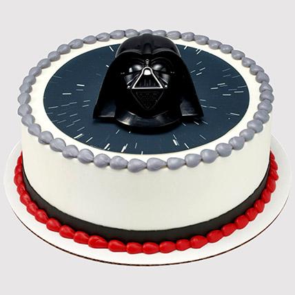 Darthd Vader Photo Cake: Star Wars Birthday Cakes