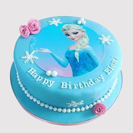 Elsa From Frozen Cake: Frozen Cake