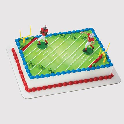 Football Field Cake: Football Cake