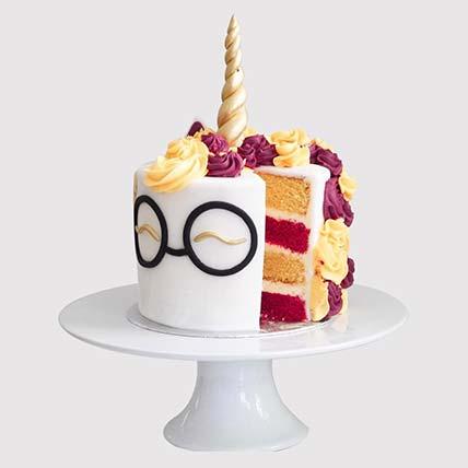 Harry Potter Unicorn Cake: Harry Potter Cake