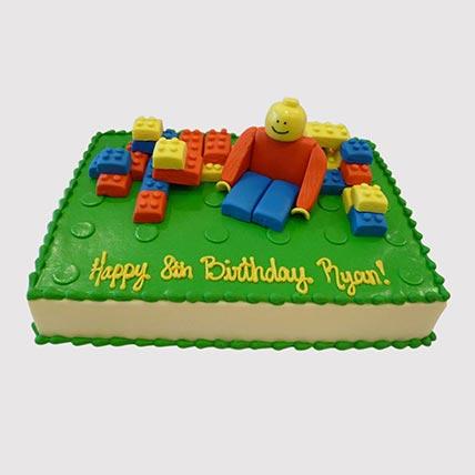 Lego Blocks Cake: Lego Birthday Cakes