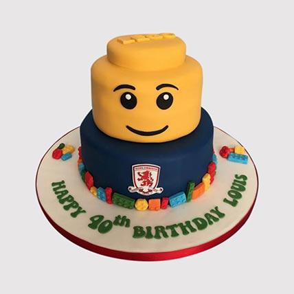 Lego Chelsea Cake: Lego Birthday Cake