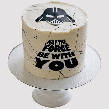 May The Force Be With You Cake: Star Wars Cakes