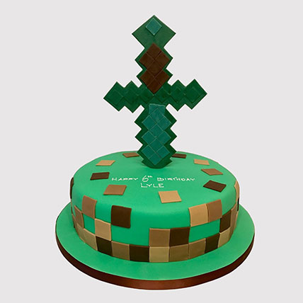 Minecraft Tree House Cake: LOL Cakes