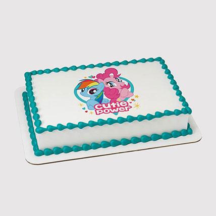 My Little Pony Photo Cake: My Little Pony Cake