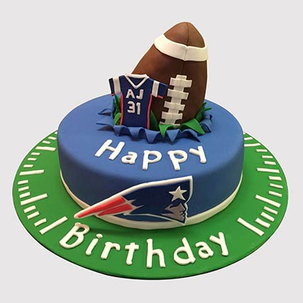 Rugby Ball Themed Cake: Cakes for Kids