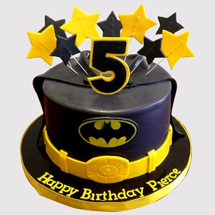 Starry Batman Cake: Batman Cakes