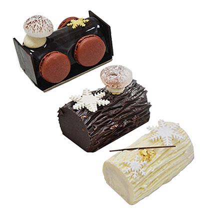 Delicious Mono Log Cake Combo: