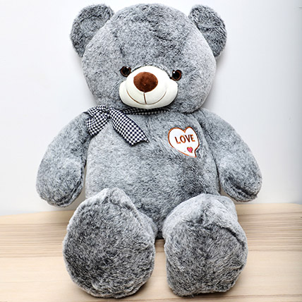 Grey Teddy Bear: Gifts for Womens Day