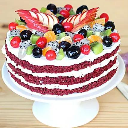 Delicious Red Velvet Cake: Red Velvet Cake Dubai