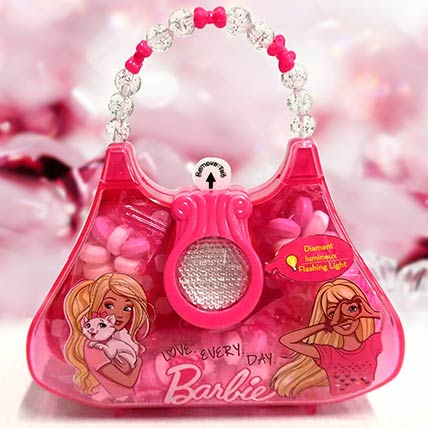Flashing Pink Bag Toy With Candies Set of 2: Birthday Gifts for Kids