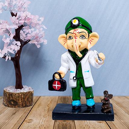 Doctor Ganesha Showpiece: Home Decor Items