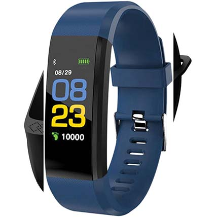 Blue N Black Activity Tracker: