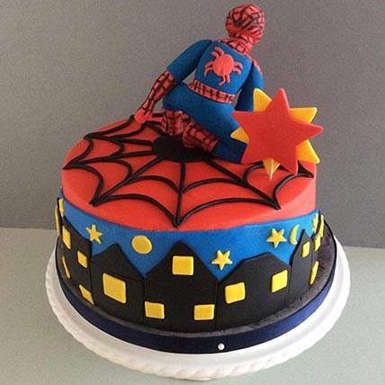 Spiderman 3D Cake: Spiderman Cake Ideas