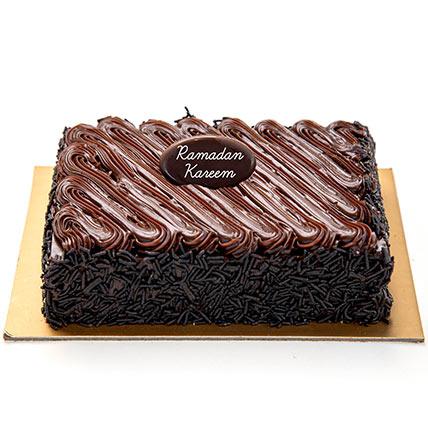 Chocolate Fudge Cake For Ramadan: Ramadan Gift Ideas