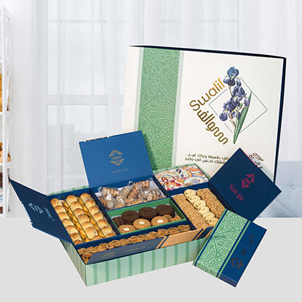 Premium Box Of Tasty Delicacies: Arabic Desserts