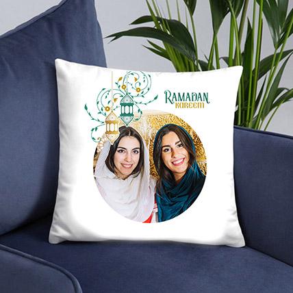 Ramadan Greetings Photo Cushion: Ramadan Gift Ideas