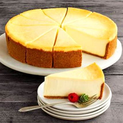 Frozen New York Cheesecake: Gifts for Mom