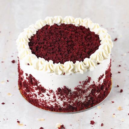 Creamy Red Velvet Cake: Eggless Cakes for Birthday