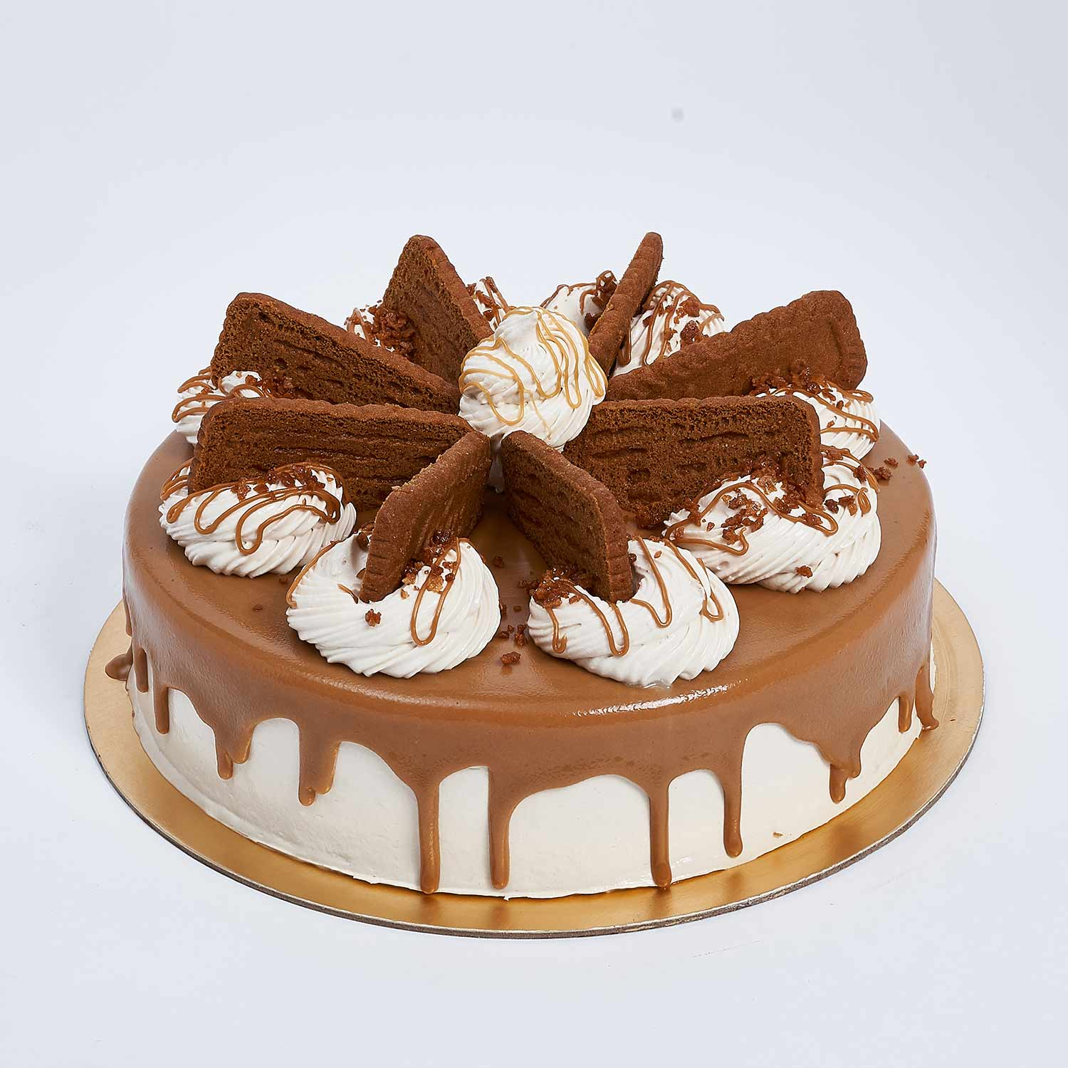 Heavenly Lotus Biscoff Cake: Birthday Cakes Dubai