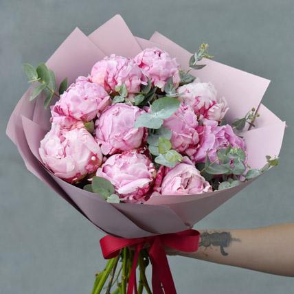 Precious Peonies Bouquet: Exotic Flowers