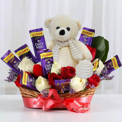 Special Surprise Arrangement: Chocolates For Anniversary