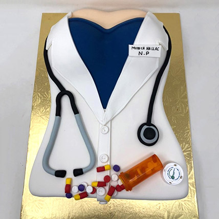 Doctors Graduation Cake 40 Portion: Graduation Theme Cakes