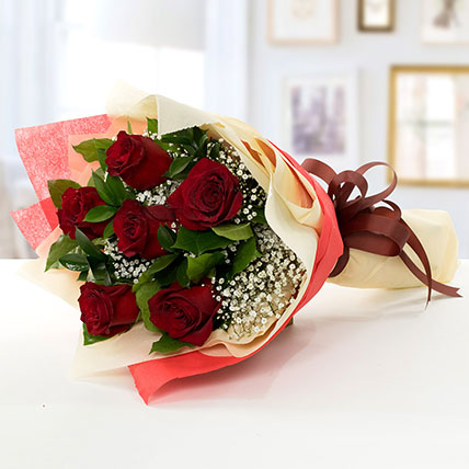 Beauty of Love: Bouquet of Roses