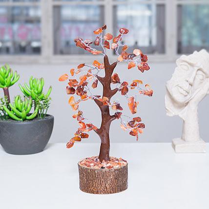 Beautiful Agate Stone Wish Tree: