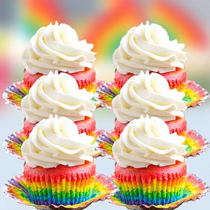 Rainbow Cupcakes: Rainbow Cakes