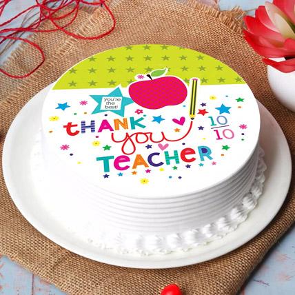 Best Teacher Chocolate Cake: Teachers Day Gifts