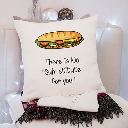 No Substitute For You Cushion: Miss You Gifts